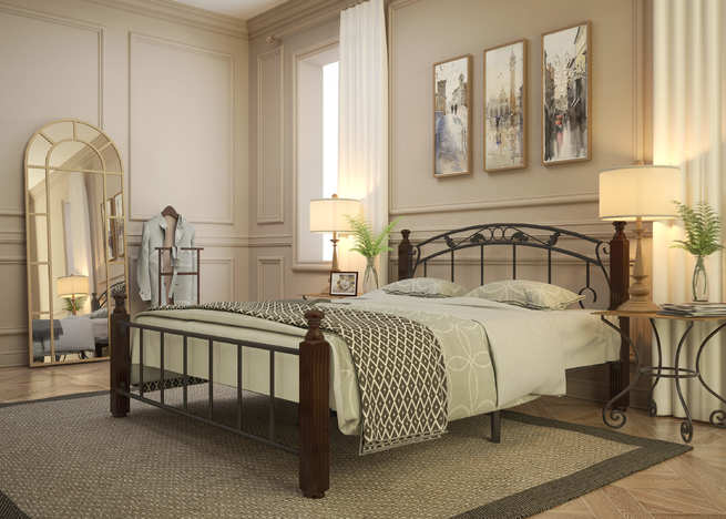 Кровать кованая Гарда 5