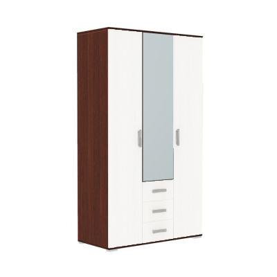 Шкаф 3-х дверный Тифани анкор тёмный/анкор светлый