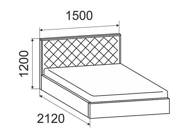 Кровать Виола